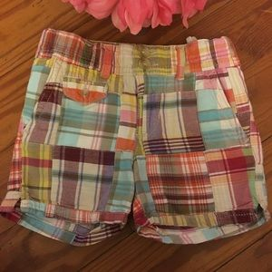 Gap Size 4T Plaid Shorts